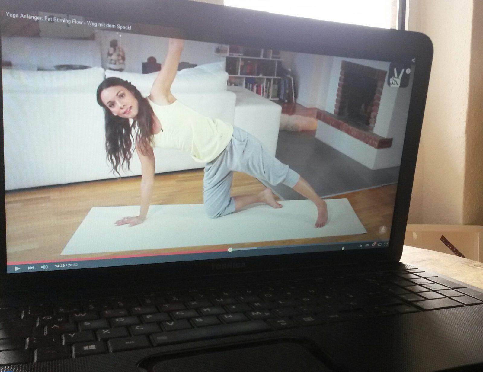 Challenge // Yoga mit YouTube