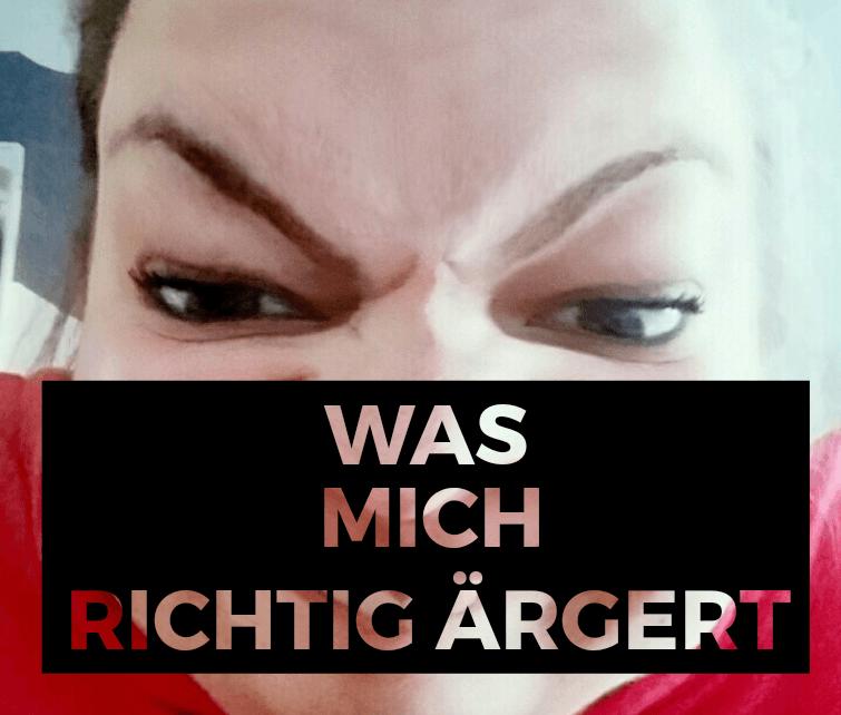 Ahoi // Ich bin wütend :-(((