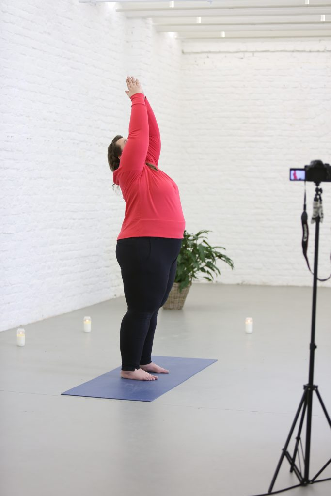 plussizebynature tchibo yoga