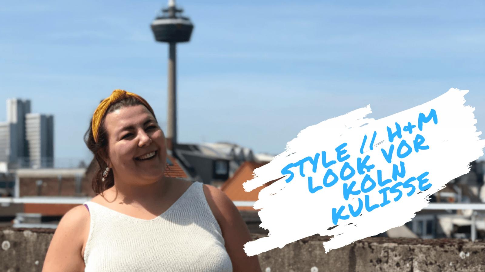 Style // H&M Look vor Köln Kulisse